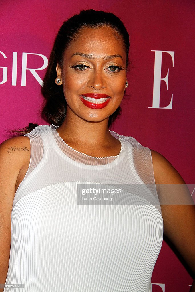 Lala Anthony attends the 4th annual ELLE Women in Music Celebration at The Edison Ballroom on April 10, 2013 in New York City.