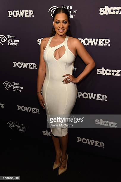 LaLa Anthony attends the 'Power' season two premiere event with a special performance from 50 Cent GUnit and other guests on June 2 2015 in New York...