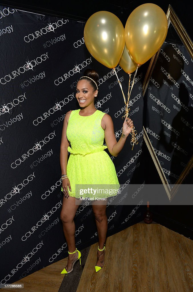 LaLa Anthony celebrates the one year anniversary of Courvoisier Gold at Bootsy Bellows on August 22, 2013 in West Hollywood, California.