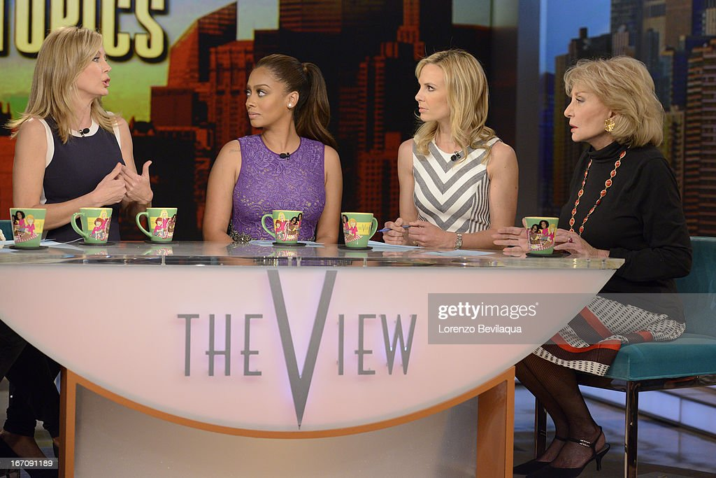 THE VIEW - 4/17/13 - LaLa Anthony is a guest co-host on 'THE VIEW,' 4/17/13 (11:00 a.m. - 12:00 noon, ET) airing on the ABC Television Network. WALTERS