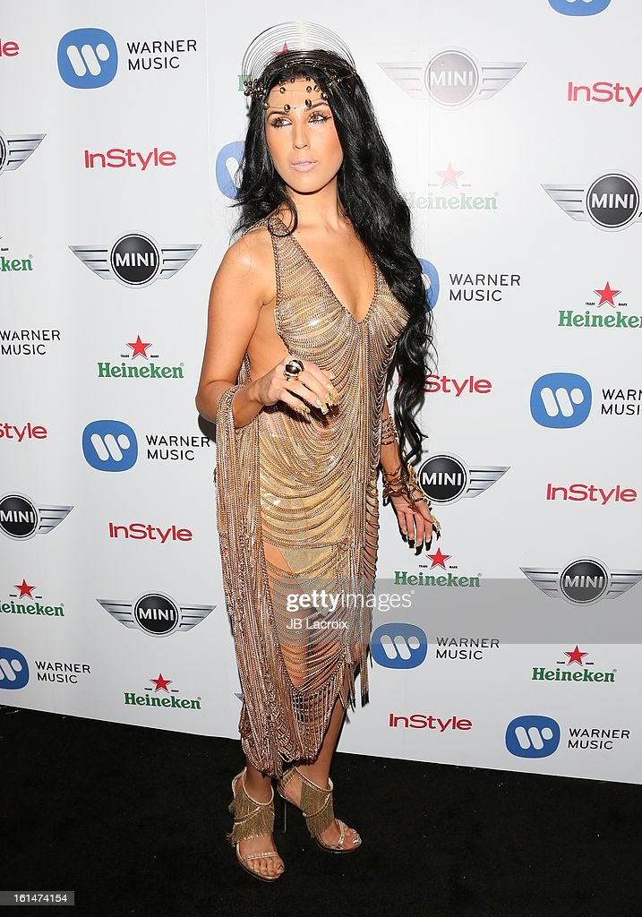 Z Lala attends the Warner Music Group 2013 Grammy Celebration Presented By Mini held at Chateau Marmont on February 10, 2013 in Los Angeles, California.