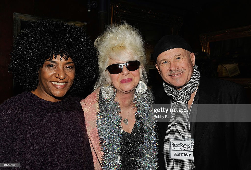 LaLa Brooks, Christine Ohlman and Peppy Castro performs at The Cutting Room on January 25, 2013 in New York, New York.