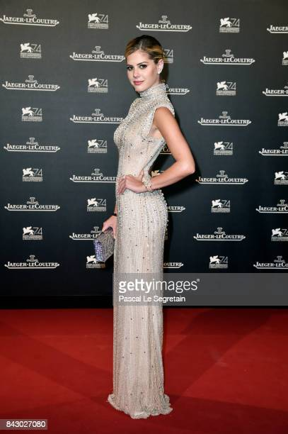 LaLa Rudge arrives for the JaegerLeCoultre Gala Dinner during the 74th Venice International Film Festival at Arsenale on September 5 2017 in Venice...
