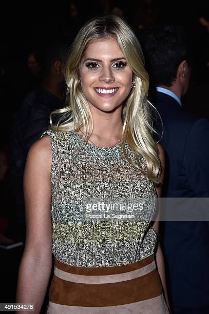 Lala Rudge attends the Valentino show as part of the Paris Fashion Week Womenswear Spring/Summer 2016 on October 6 2015 in Paris France