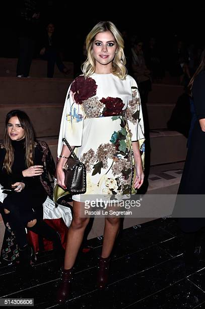 Lala Rudge attends the Valentino show as part of the Paris Fashion Week Womenswear Fall/Winter 2016/2017 on March 8 2016 in Paris France