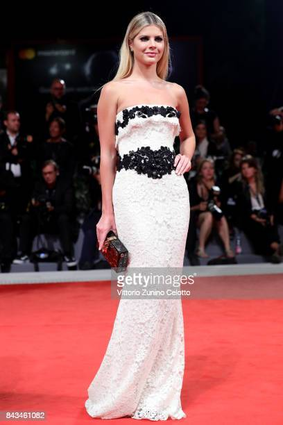 Lala Rudge walks the red carpet ahead of the 'Loving Pablo' screening during the 74th Venice Film Festival at Sala Grande on September 6 2017 in...