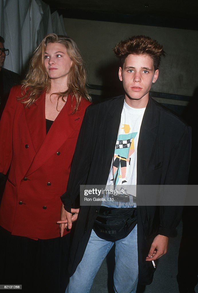 Lala Sloatman and Corey Haim