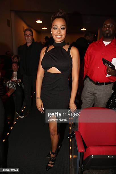Lala Vasquez attends 'Nas Time Is Illmatic' New York Premiere at Museum of Modern Art on September 30 2014 in New York City