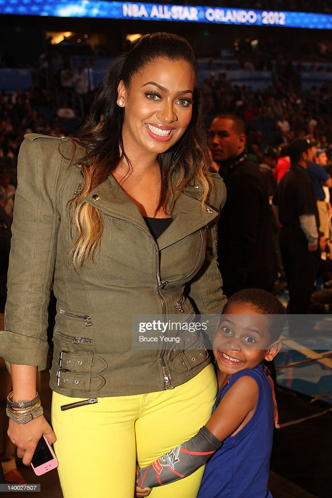 Lala Vasquez pose for a photo during the 2012 NBA All-Star Game presented by Kia Motors as part of 2012 All-Star Weekend at the Amway Center on February 26, 2012 in Orlando, Florida.