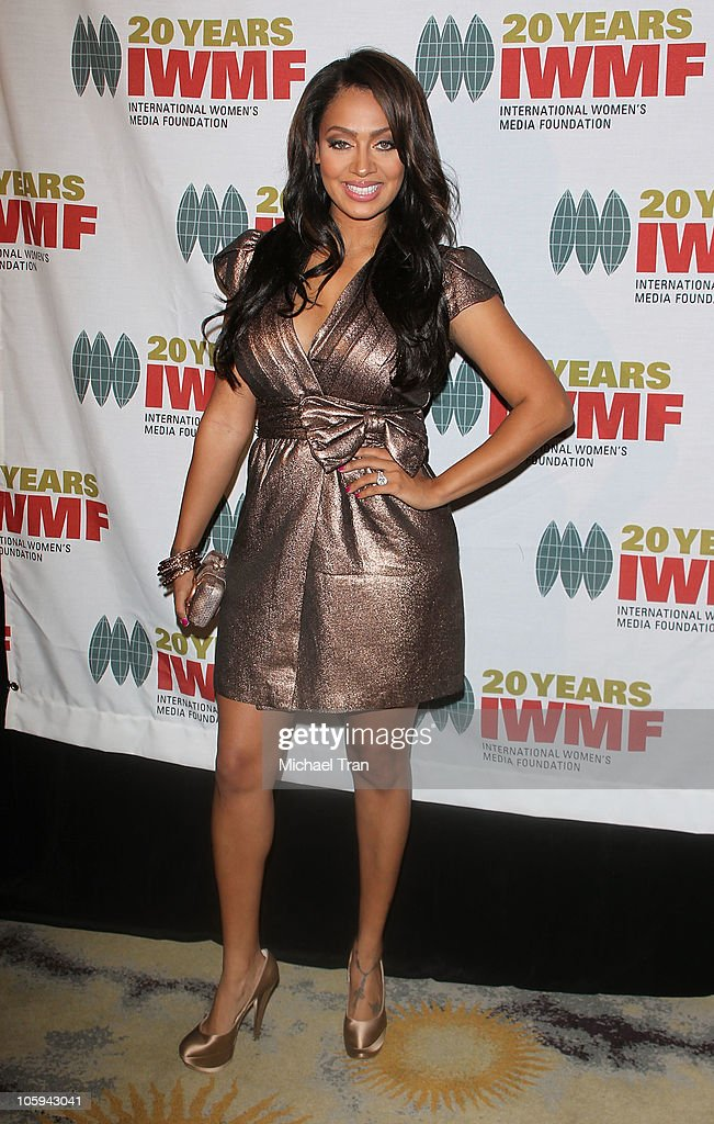 LaLa Vazquez arrives at The International Women's Media Foundation's 'Courage In Journalism' awards held at Beverly Hills Hotel on October 21, 2010 in Beverly Hills, California.