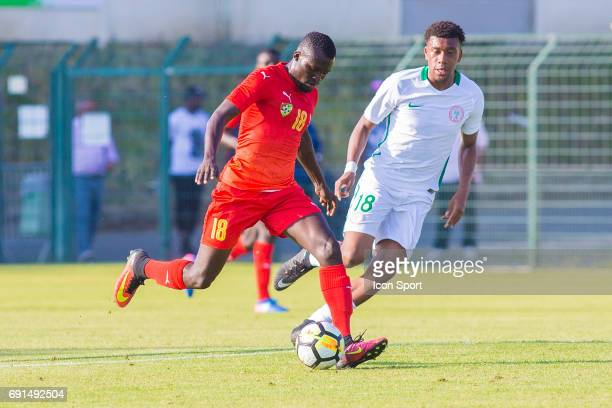 Lalawele Atakora of Togo during the soccer friendly match between Nigeria and Togo on June 1 2017 in St LeulaForet France