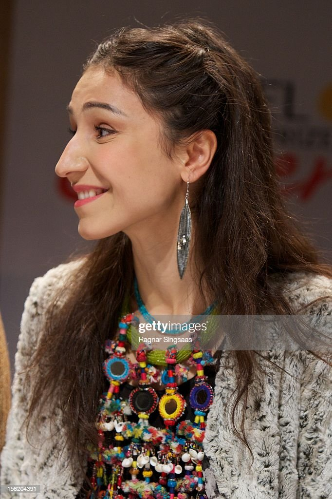 Laleh attends a press conference ahead of the Nobel Peace Prize Concert at Radisson Blu Plaza Hotel on December 11, 2012 in Oslo, Norway.