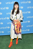 Laleh Pourkarim attends the UNICEF launch of the #IMAGINE Project to celebrate the 25th Anniversary of the rights of a child at United Nations on...