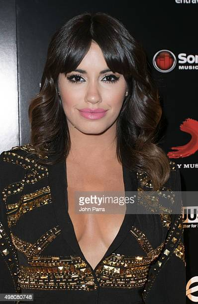 Lali Esposito attends Sony Music Latin's Official Latin Grammy After Party at XS nightclub at Encore Las Vegas on November 19 2015 in Las Vegas Nevada