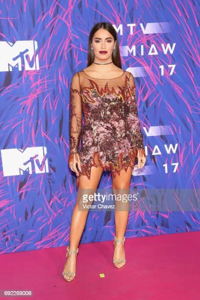 Lali Esposito attends the MTV MIAW Awards 2017 at Palacio de Los Deportes on June 3 2017 in Mexico City Mexico