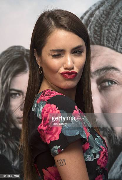 Lali Esposito attends the 'Nieve Negra' premiere at the Gaumont cinema on January 17 2017 in Buenos Aires Argentina