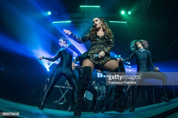 ÊLali Esposito Performs at Magazzini Generali on April 9 2017 in Milan Italy