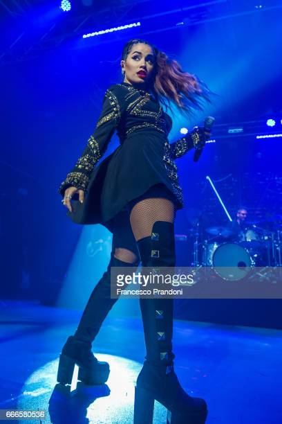 Lali Esposito Performs at Magazzini Generali on April 9 2017 in Milan Italy