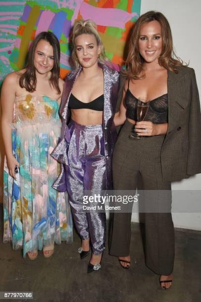 Lalla Nugent AnneMarie and Belinda Sloane attend an intimate dinner hosted by Henry Holland and Andrew Nugent to celebrate the House of Holland...