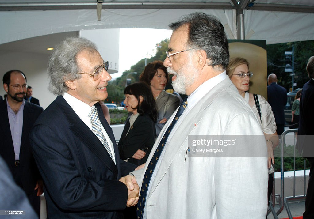 Lalo Schifrin and Francis Ford Coppola during 'THX 1138' Director's Cut New York Special Screening at Guggenheim Museum in New York City New York...
