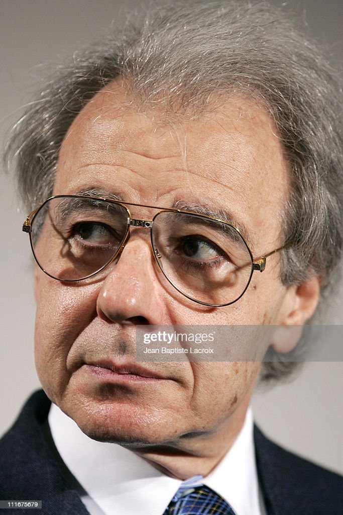 Lalo Schifrin during 2004 Cannes Film Festival Conference with Lalo Schifrin at Palais Des Festivals in Cannes France