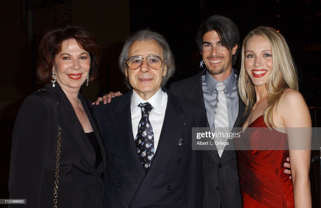 Lalo Schifrin with wife son Ryan Schifrin and wife Theresa Schifrin