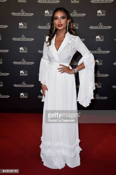 Lama AlAkeel arrives for the JaegerLeCoultre Gala Dinner during the 74th Venice International Film Festival at Arsenale on September 5 2017 in Venice...