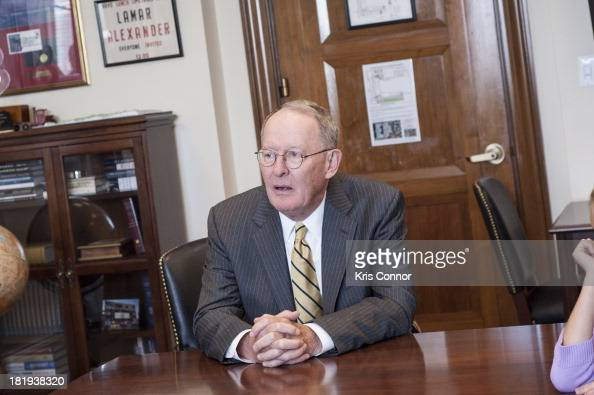 Lamar Alexander meets with Nikki Taylor and Denny Hamlin to talk about getting support of The Preemie Act and The Newborn Screening Save Lives Act in...