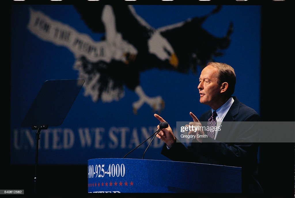Lamar Alexander speaks at the United We Stand America political convention held in Dallas Texas