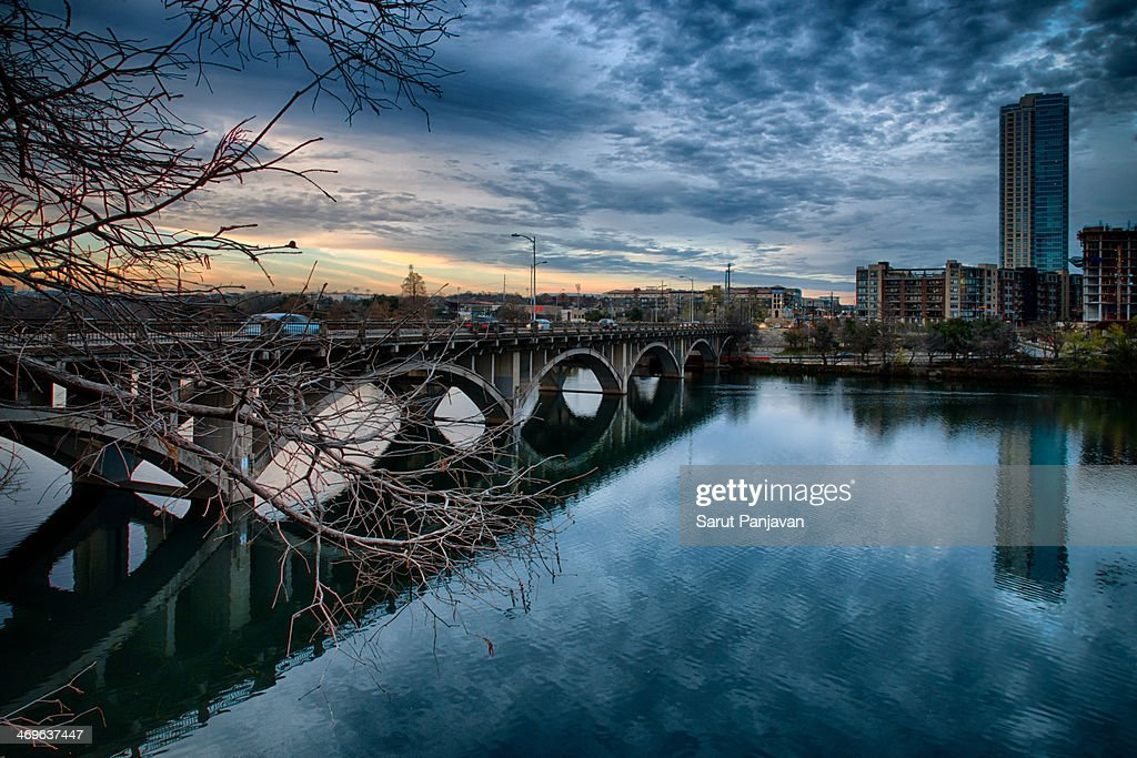 Lamar Boulevard Bridge : Stock Photo