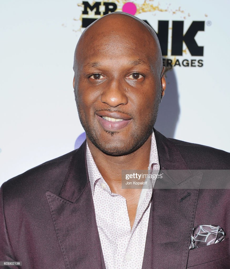 Lamar Odom arrives at iGo.live Launch Event at the Beverly Wilshire Four Seasons Hotel on July 26, 2017 in Beverly Hills, California.