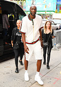 Celebrity Sightings In New York City - August 21, 2019
