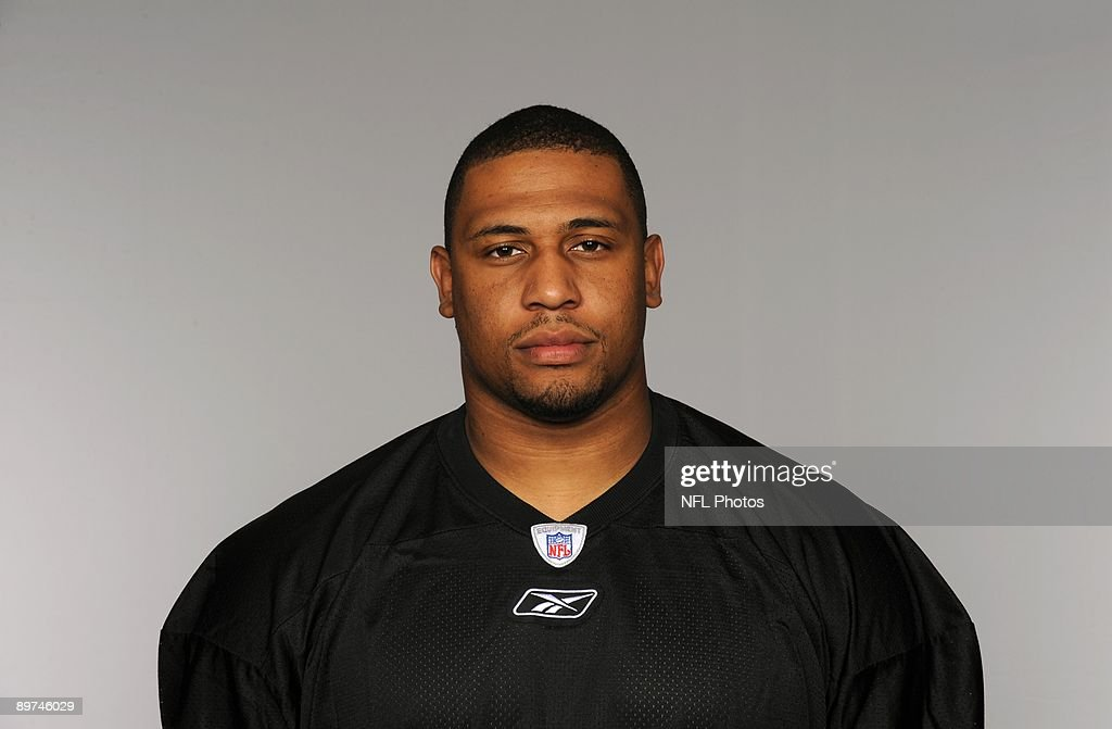 LaMarr Woodley of the Pittsburgh Steelers poses for his 2009 NFL headshot at photo day in Pittsburgh, Pennsylvania.