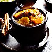 Lamb and butternut squash stew