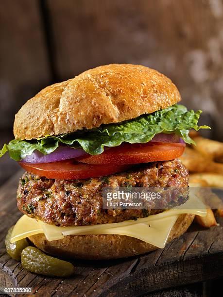 100% Lamb -Greek Burger