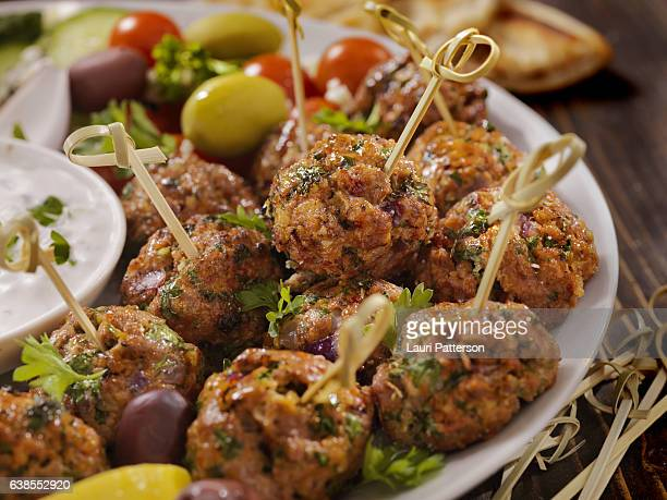 100% Lamb -Greek Meatball Platter