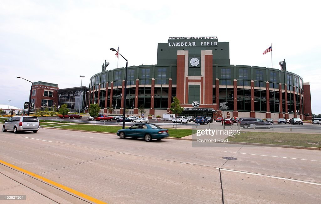 Lambeau Field, home of the Green Bay Packers football team on August 16, 2014 in Green Bay, Wisconsin.