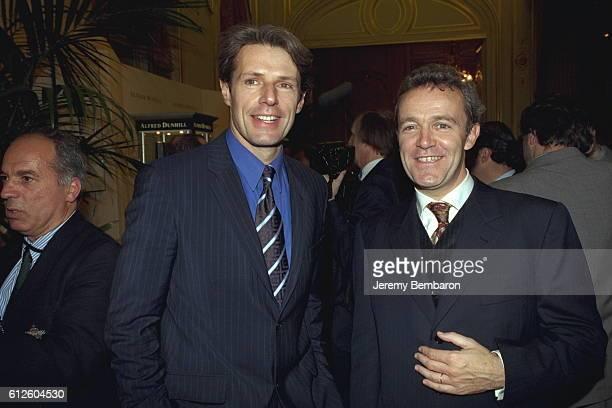 Lambert Wilson and Alain Pansard