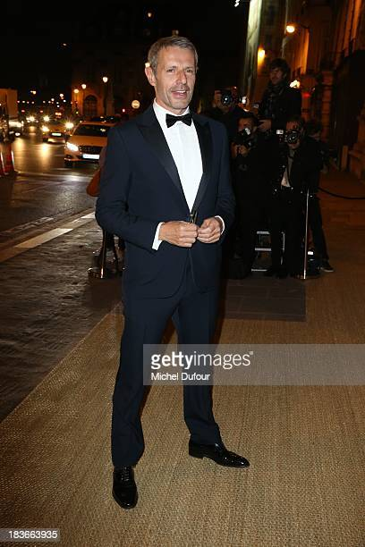 Lambert Wilson arrives at a Ralph Lauren Collection Show and private dinner at Les BeauxArts de Paris on October 9 2013 in Paris France On this...