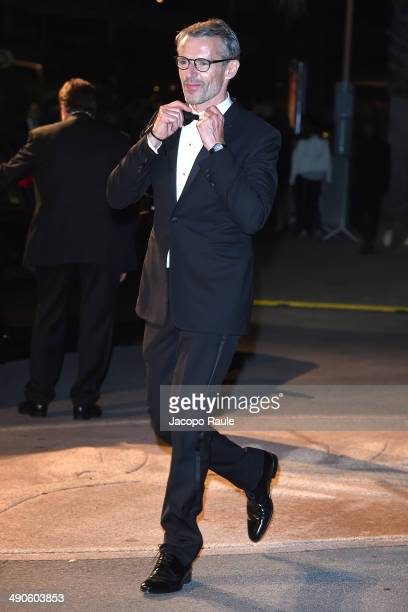 Lambert Wilson arrives at the after party for 'Grace of Monaco' on day 1 of the 67th Annual Cannes Film Festival on May 15 2014 in Cannes France