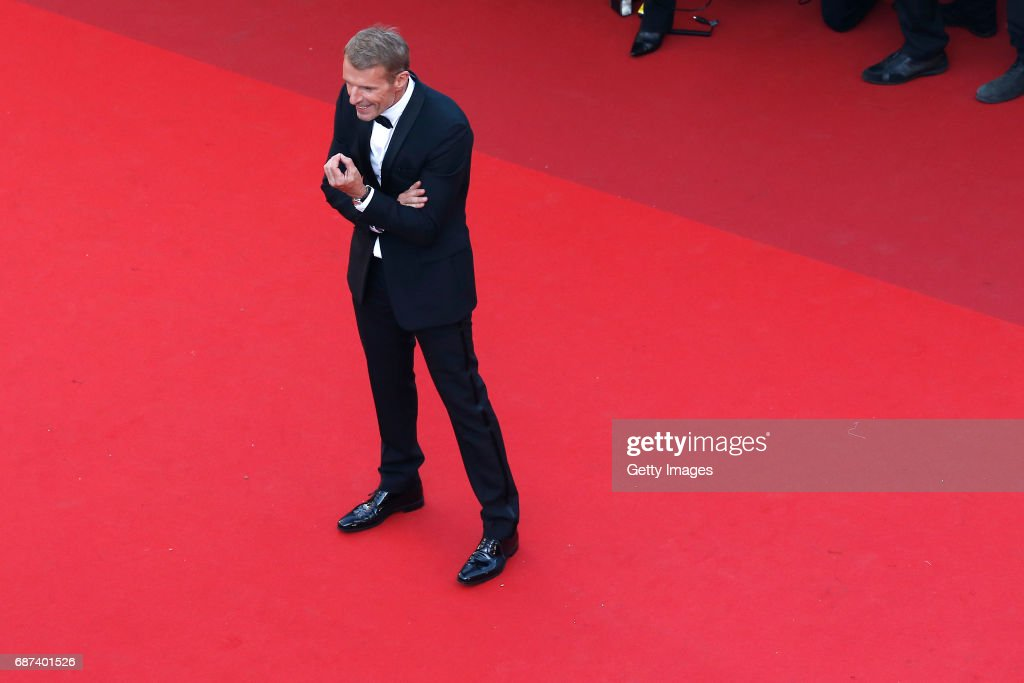 Lambert Wilson attends the 70th Anniversary of the 70th annual Cannes Film Festival at Palais des Festivals on May 23, 2017 in Cannes, France.