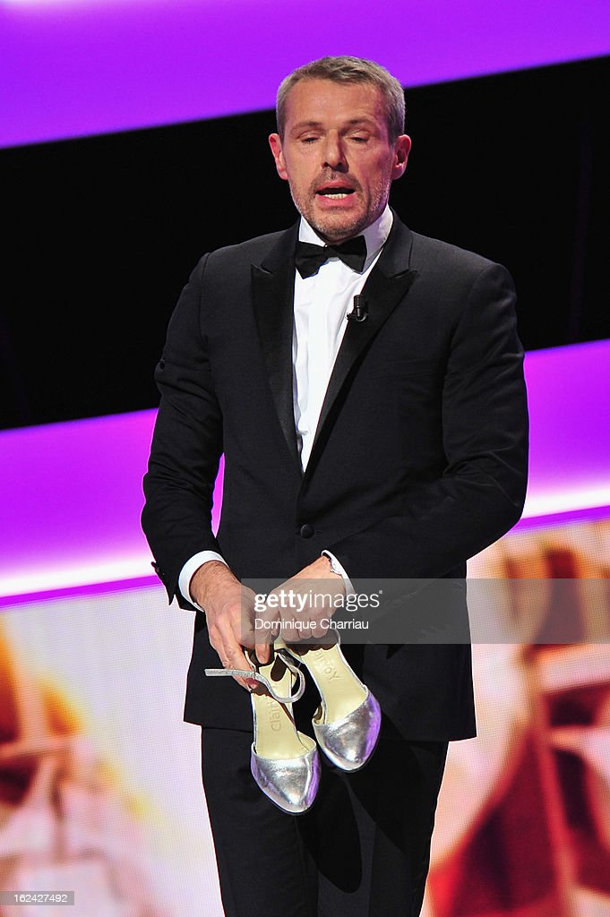 Lambert Wilson attends the Cesar Film Awards 2013 at Theatre du Chatelet on February 22, 2013 in Paris, France.