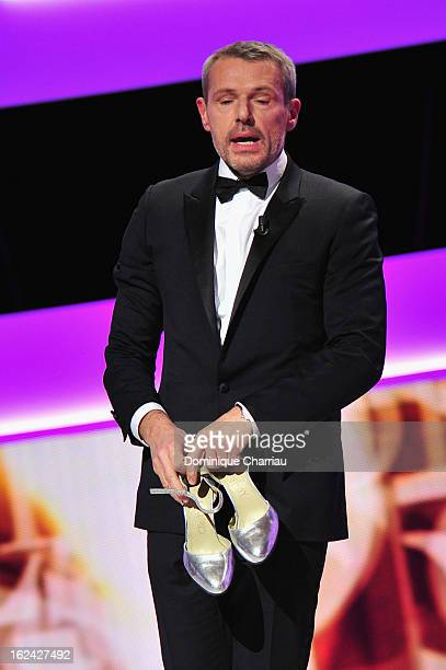 Lambert Wilson attends the Cesar Film Awards 2013 at Theatre du Chatelet on February 22 2013 in Paris France
