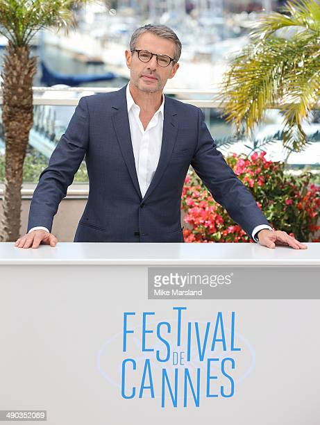 Lambert Wilson attends the Lambert Wilson Photocall at the 67th Annual Cannes Film Festival on May 14 2014 in Cannes France