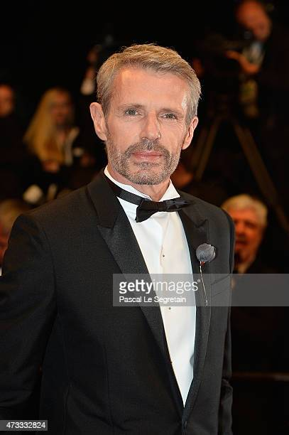 Lambert Wilson attends the Premiere of 'Il Racconto Dei Racconti' during the 68th annual Cannes Film Festival on May 14 2015 in Cannes France