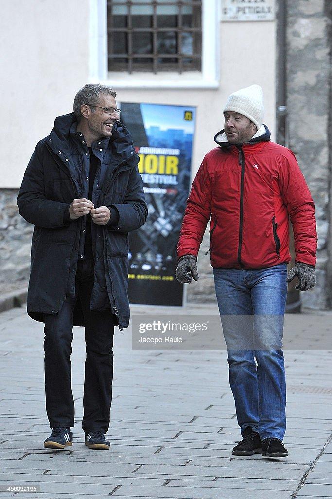 Celebrity Sightings In Courmayeur - December 13, 2013
