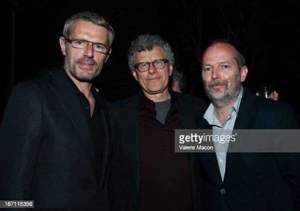 Lambert Wilson Jon Amiel and Etienne Comar attends 17th Annual City Of Lights City Of Angels Film Festival Opening Night 'Haute Cuisine' at Directors...