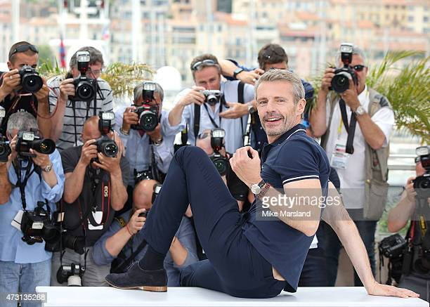 Lambert Wilson Master of Ceremonies attends a photocall during the 68th annual Cannes Film Festival on May 13 2015 in Cannes France