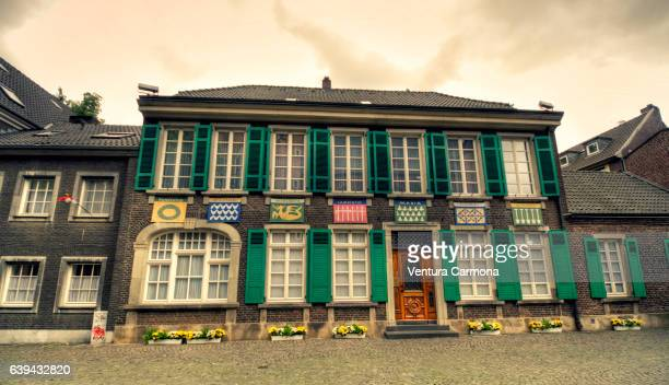 Lambertus House in the Old Town of Düsseldorf, Germany