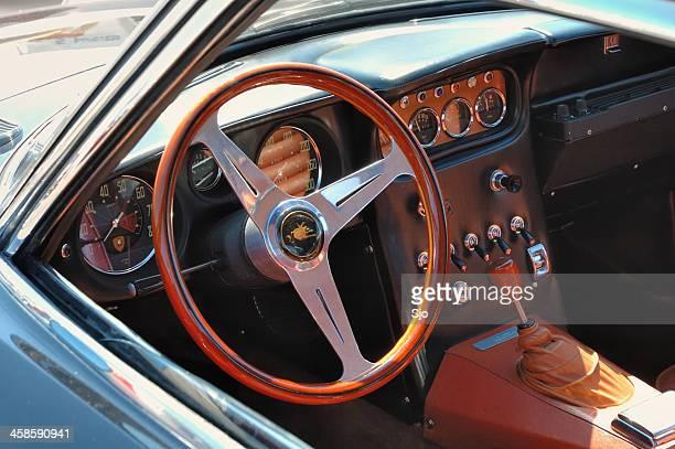 Lamborghini 350 GT interior